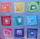 Wonky Squares for Baby Farrah