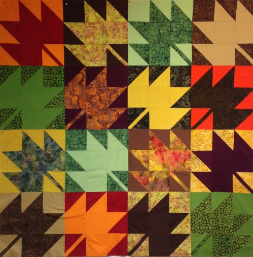 Woodruff's Modern Maples Quilt