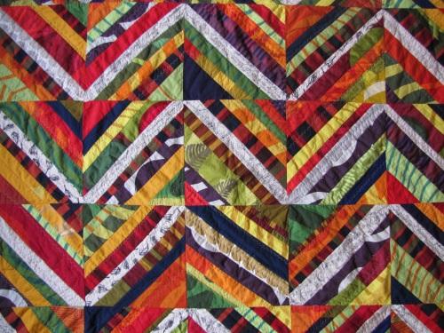 Living Room Lap Quilt - Mostly Marimekko Scraps