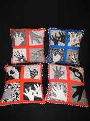 SF PAL Gal Hand Pillows