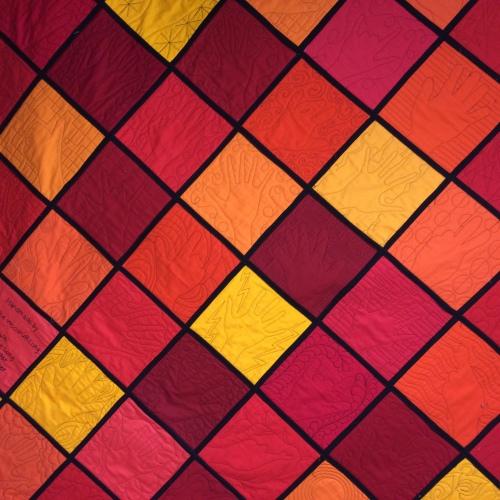 Reversable quilt!