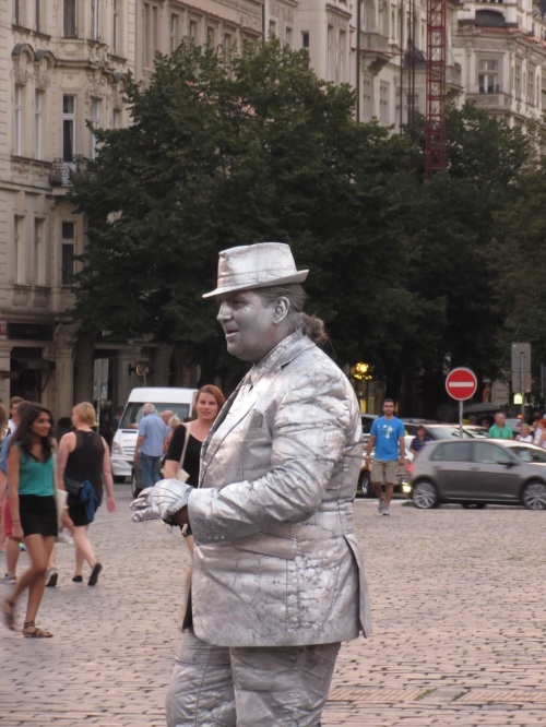 Silver Man- Germany