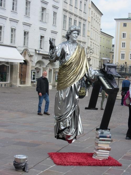 Silver Music Man - Salzburg
