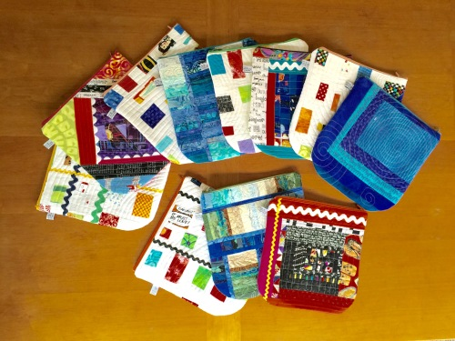 Quilted Gift Bags for Special People