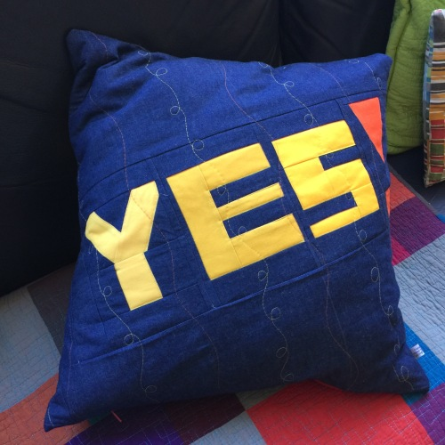 YES! Pillow for a friend