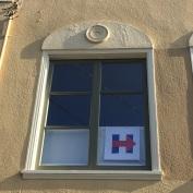 DIY Window sign
