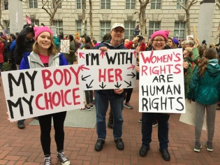San Francisco Women's March January 2017
