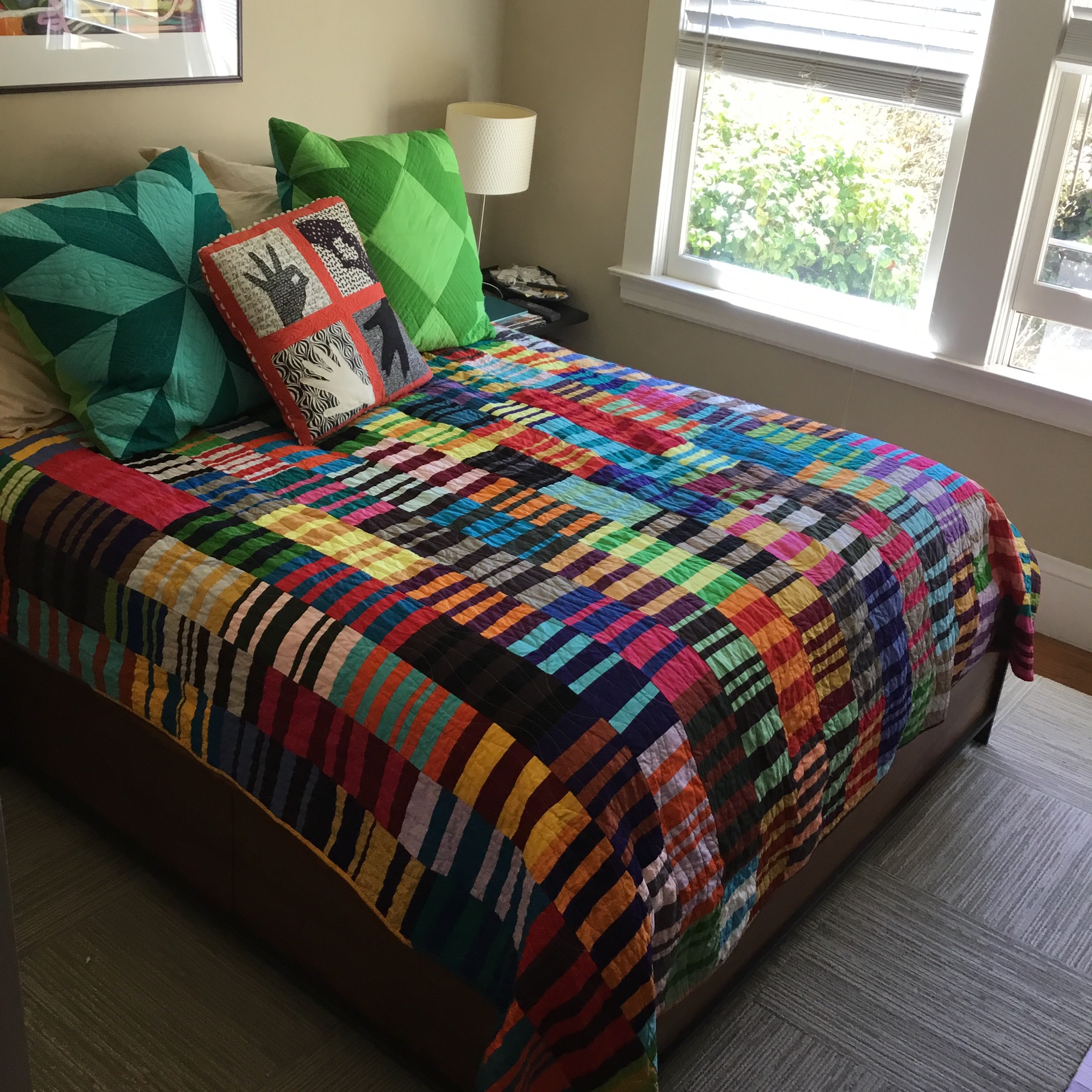New Bed Quilt for us!