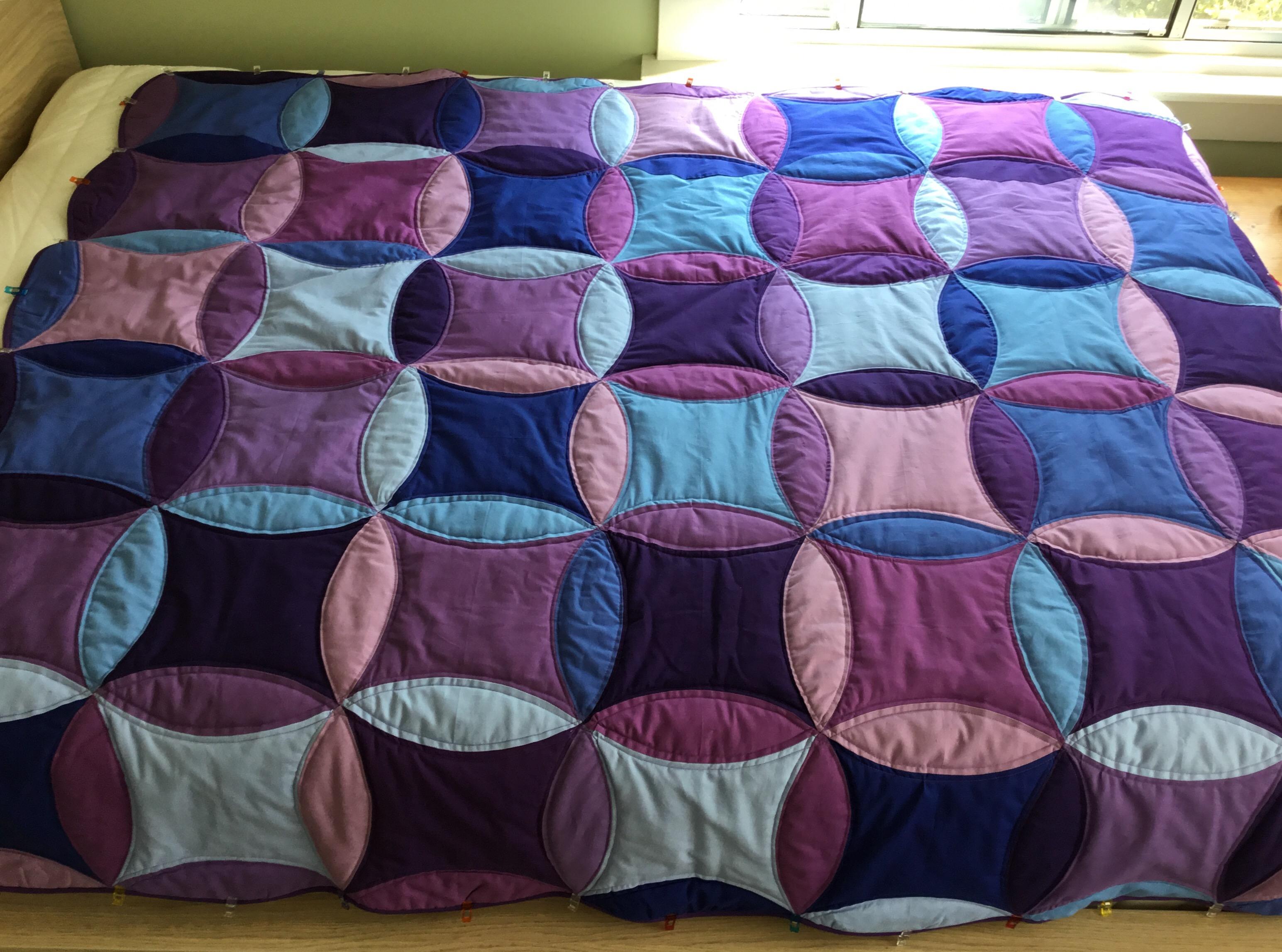Adrienne's College Quilt