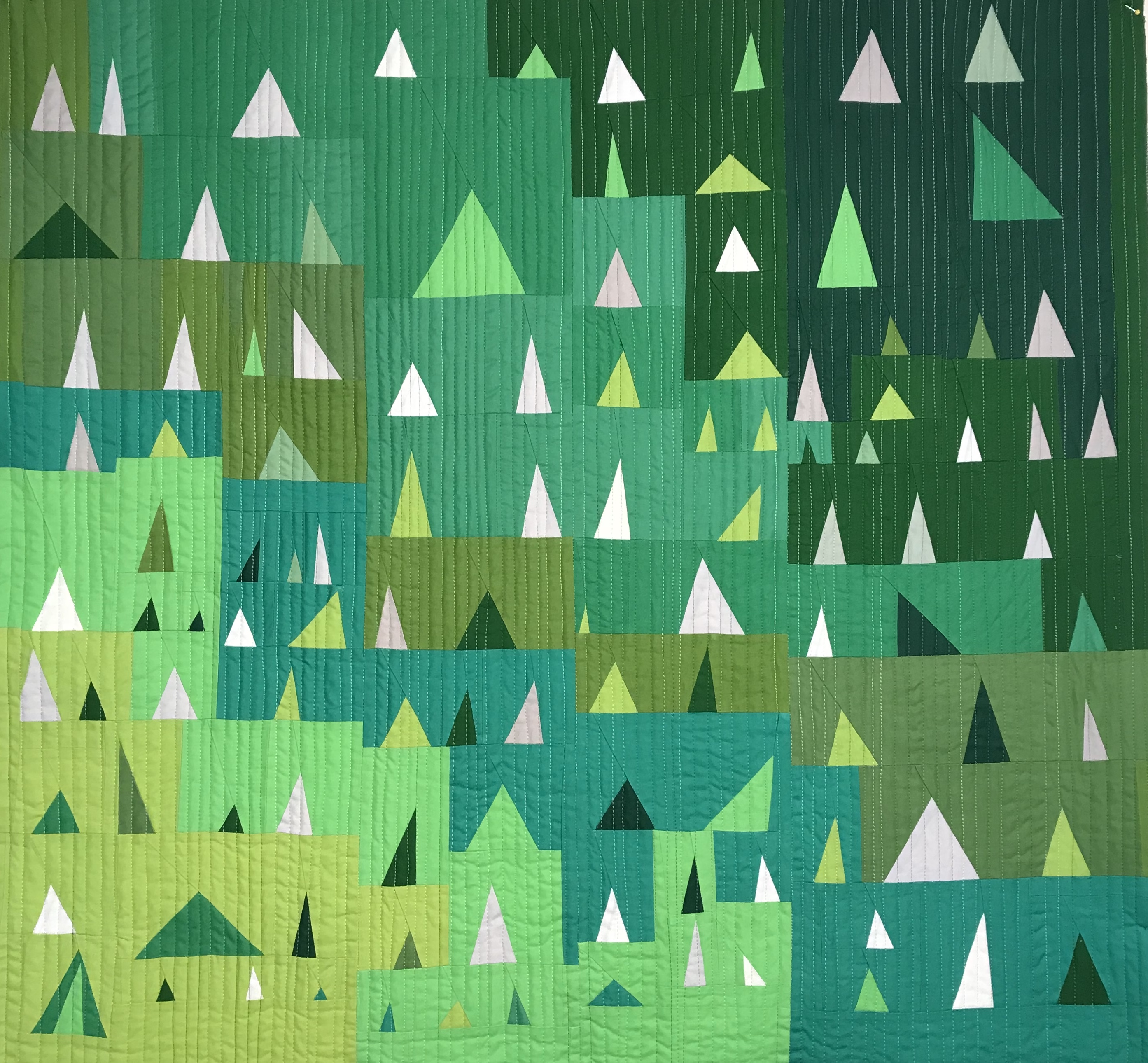 Forest Improv Triangles